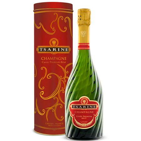 Champagne Tsarine Cuvée Premium Avec Boite Metal