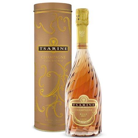 champagne tsarine rose