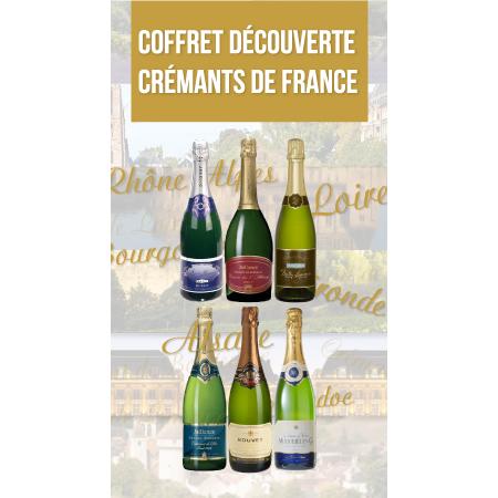 Coffret Découverte Crémants de France