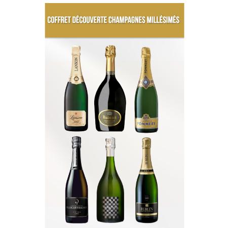 Coffret Découverte Champagnes Millésimés