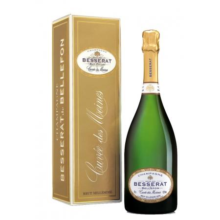 Champagne Besserat De Bellefon Cuvée Des Moines 2002 Avec Etui