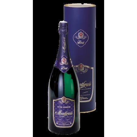 Montlouis Méthode Traditionnelle Tête de Cuvée - Magnum avec Tube