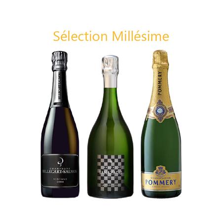 Sélection Champagnes Millésimés