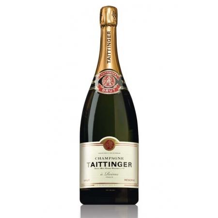 Champagne Taittinger  Brut Réserve Magnum avec étui