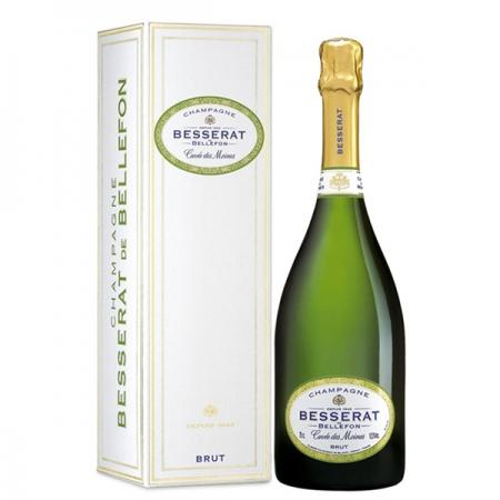 Champagne Besserat De Bellefon Cuvée Des Moines Brut avec Etui offert