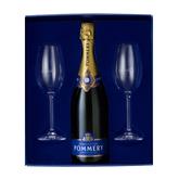 Champagne Pommery Coffret Brut Royal